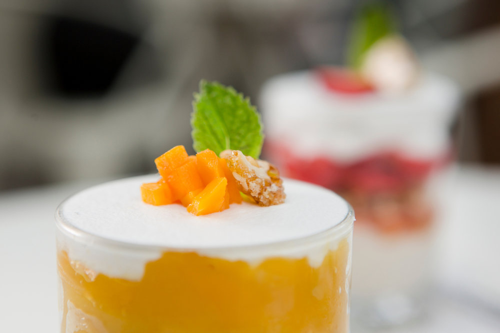 Mango Rice Pudding Parfait