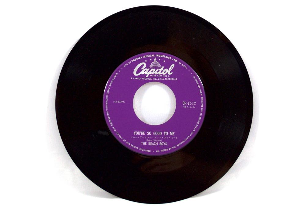 The Beach Boys – Sloop John B / You're So Good To Me Japanese ...