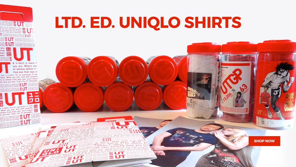 Ltd. Ed. Uniqlo Shirts