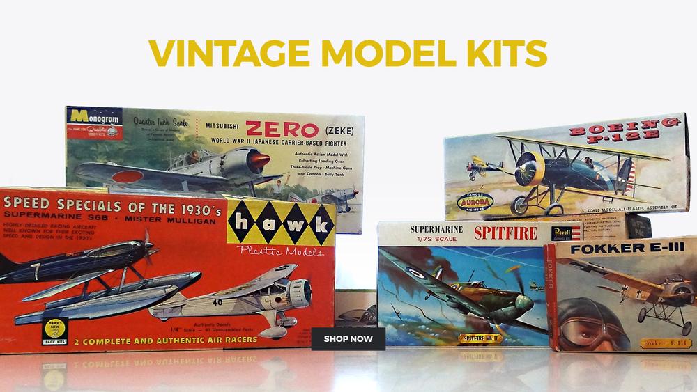 Vintage Model Kits