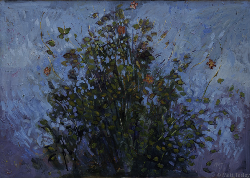 %22Flowers%22, oil on canvas, 60%22x 84%22.jpg