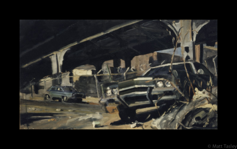 %22NYC Car%22, oil on masonite , 18%22x 24%22.jpg