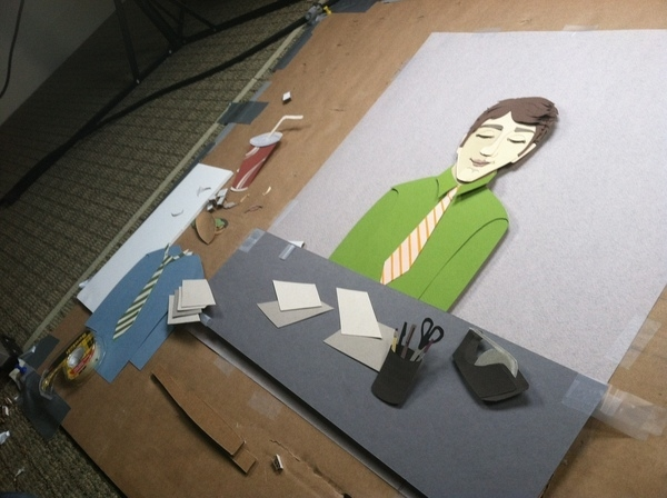 Stop Motion: Keas Goes to Work (Still)