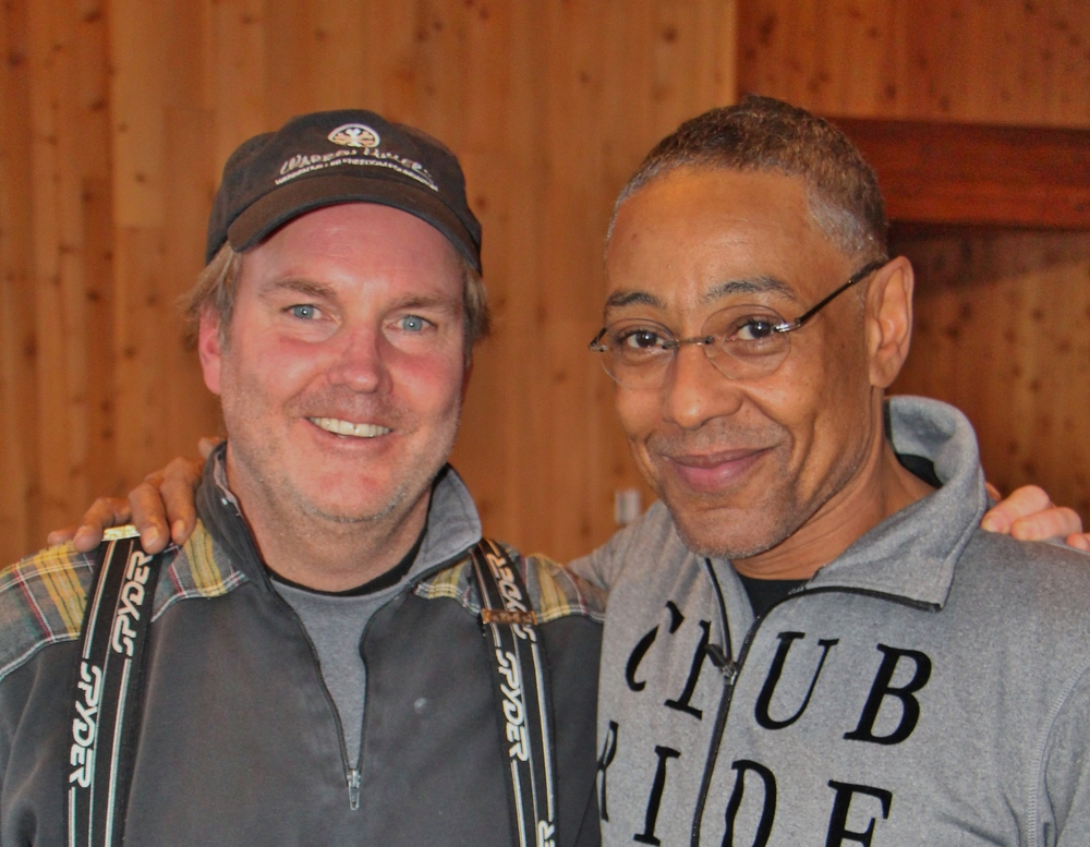Brad Vancour with Giancarlo Esposito.JPG