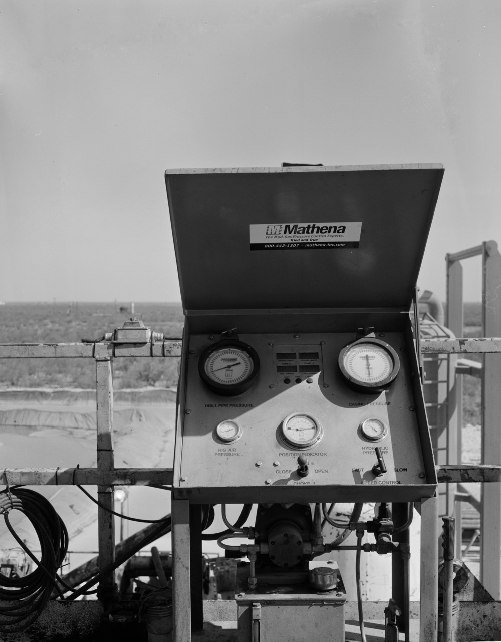 4x5 film taken in the oil fields of West Texas.