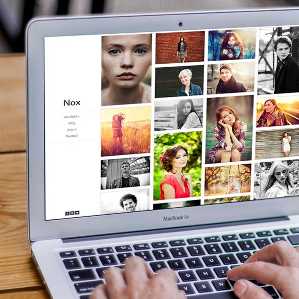 Photographer Website Presets