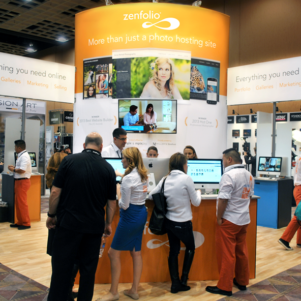 Zenfolio Trade Show Graphics