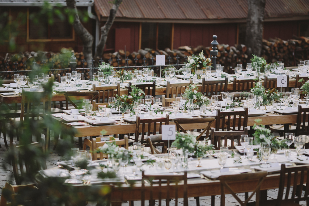 Romantic and Timeless Triple S Ranch Wedding with Venn Floral, A Savvy Event, and Rachelle Derouin Photography.