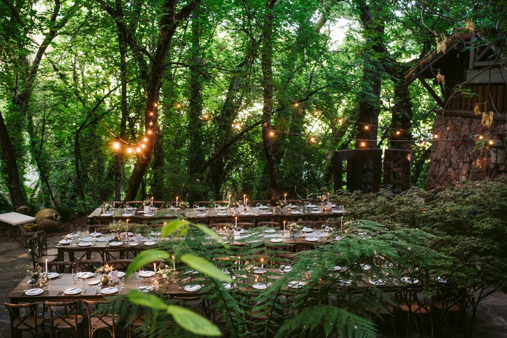 Anderson Ranch wedding in Kenwood, California with Venn Floral, Charleton Churchill, A Savvy Event, and Ramekins Culinary School.