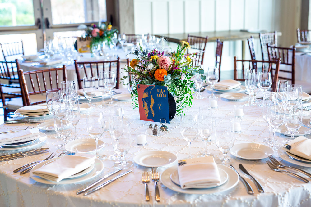 Wildflower wedding at Paradise Ridge Winery with Tim Halberg Photography, Venn Floral, and A Savvy Event.