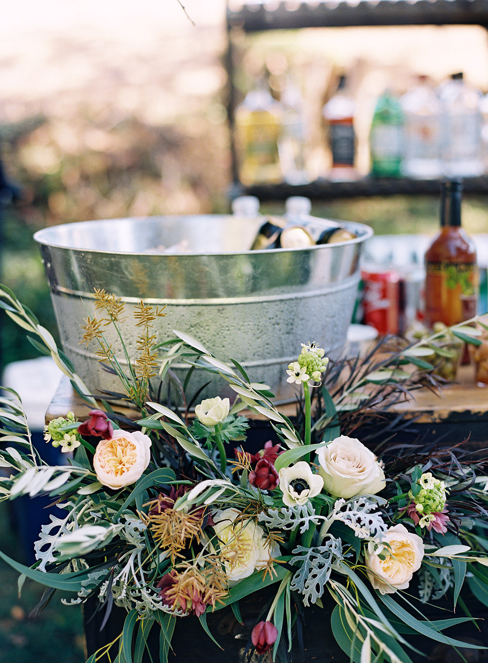 West Marin Wedding with Venn Floral, Laura Catherine Photography, and Joyeux Events at Straus Home Ranch.