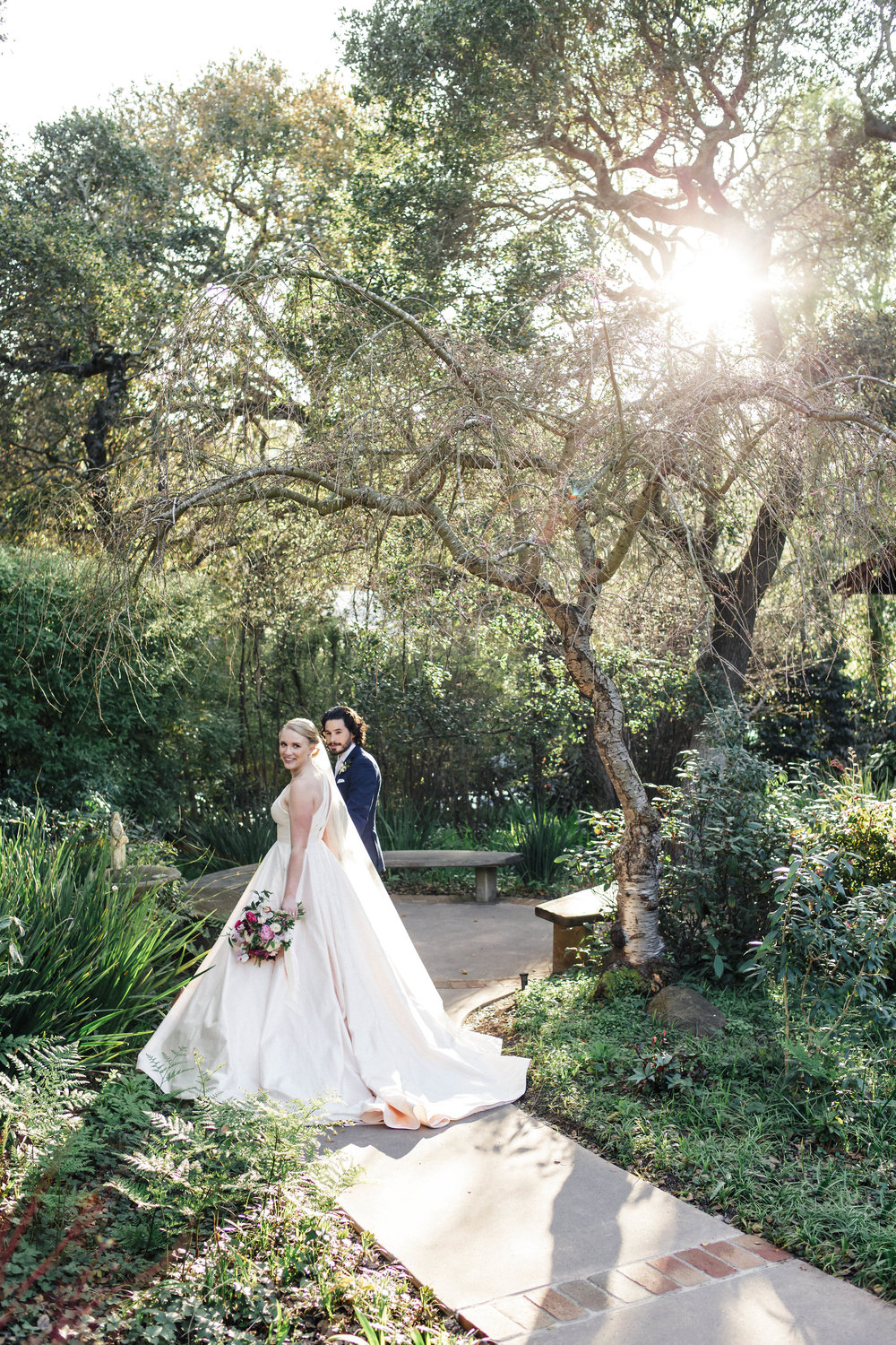 Elegant garden wedding at The Outdoor Art Club in Mill Valley, California with Torrey Fox Photography, Venn Floral, Sage Catering and Oh Splendid Day.