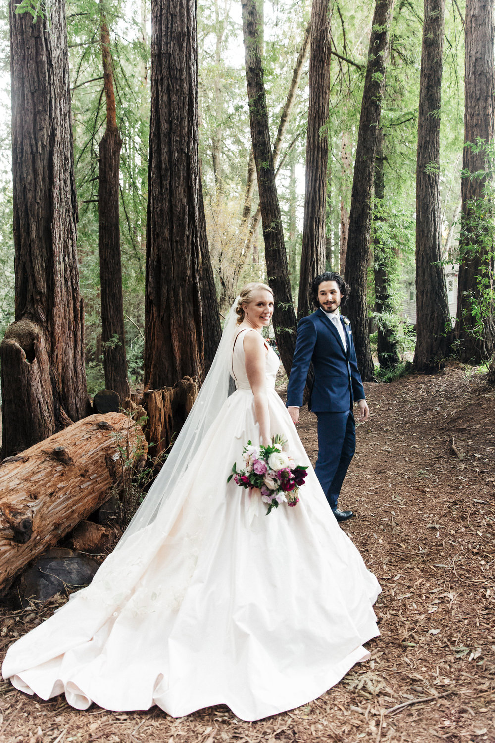 Elegant garden wedding at The Outdoor Art Club in Mill Valley, California with Torrey Fox Photography, Sage Catering, and Oh Splendid Day.