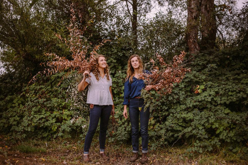 Camille & Heather of Venn Floral