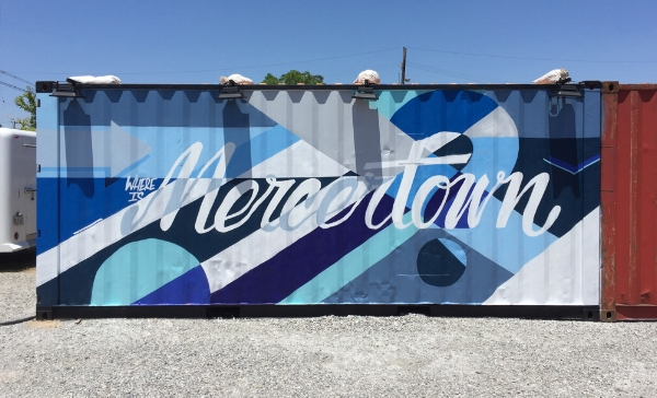 Check out the Mercer's mural the next time you are at ReSurfaced