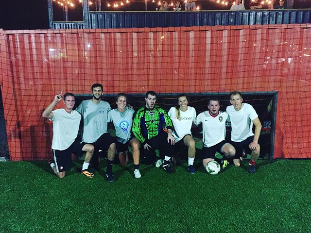 Congratulations to United, the winners of last night's Open Tournament 💥🏆⚽️💥! #louisville #soccer #ReSurfaced