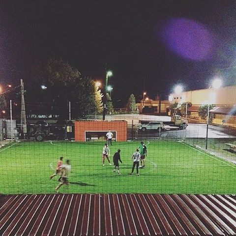 Pick-up under the bright lights at Liberty tonight. #ReSurfaced #soccer #louisville 📸: @mistergreenlee