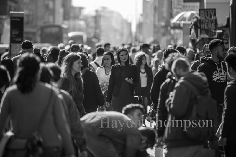 Oxford Saturday - Woman Shopping.jpg