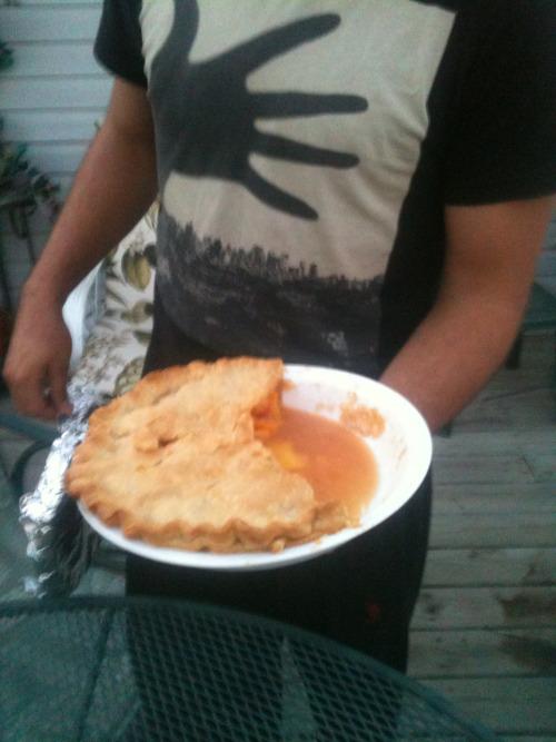 Minnesota Nice Peach Pie