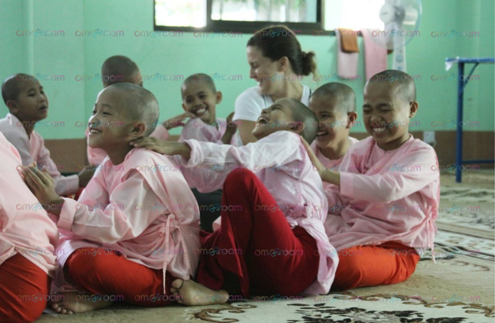 All   Burma Love: Yoga Seva Project     images/photos are property of Om & Roam, LLC (2019) and we ask there is no sharing or use of images without explicit consent. This measure is in place to protect the privacy of this nunnery community. If you are viewing this website, you accept this condition. We thank you for respecting this condition, and respecting this sacred community.