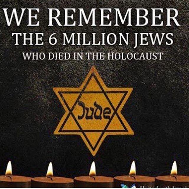 Repost @inbarbornstein . #Holocaust memorial May 4th 💔