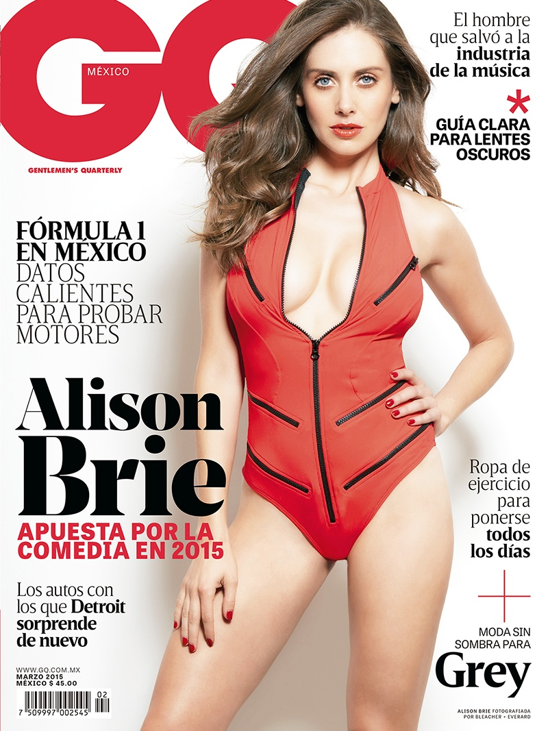 GQ Mexico - Alison Brie