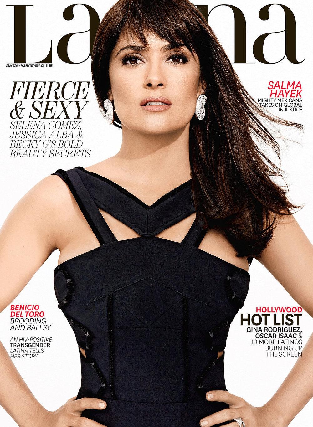 Latina Magazine - Salma Hayek
