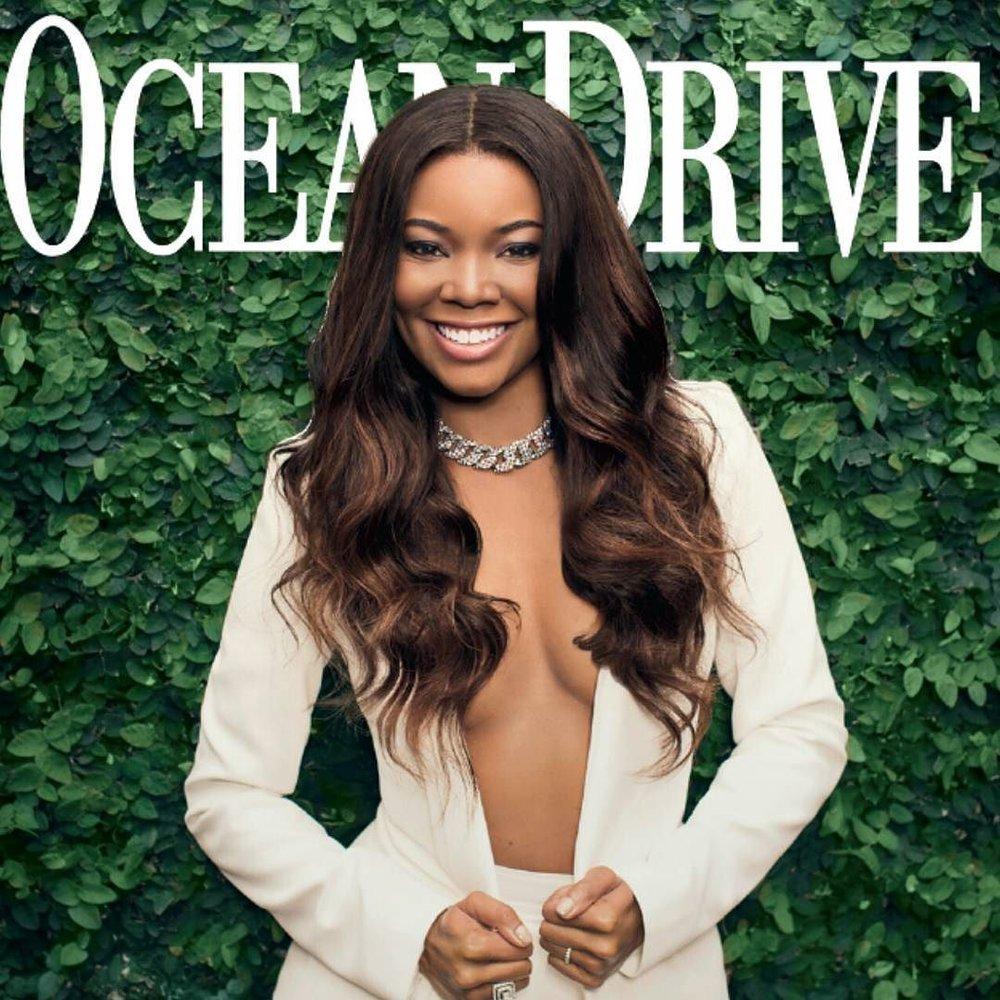 Ocean Drive Magazine - Gabrielle Union