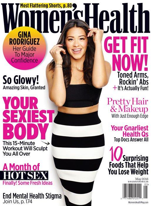 Women's Health - Gina Rodriguez