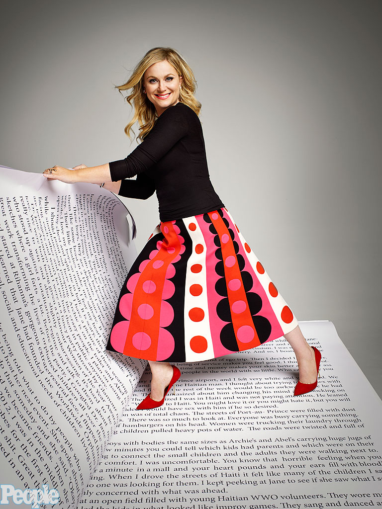 People Magazine - Amy Poehler