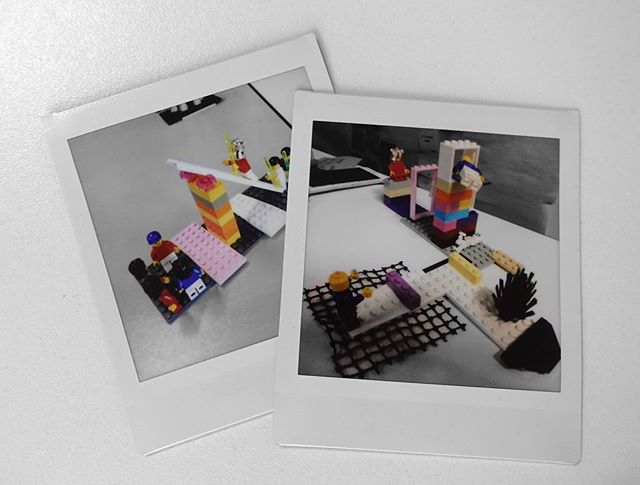 LEGO Serious Play + Polaroid  The power in LEGO Serious Play is to give physical form to ideas, problems and experiences.  This allows you to talk about them, play with them, change them, test them, improve them.  The polaroid allows you to capture that artefact and extend that conversation beyond the meeting or workshop.  Plus they both remind me of growing up in the 80s. And they're both cool…  #LegoSeriousPlay #artefact #creativity #innovation #LEGO #metaphor #workshop #facilitation #meetings #story #hand #play #playatwork #storytelling #polaroid #instax #instaxsquare