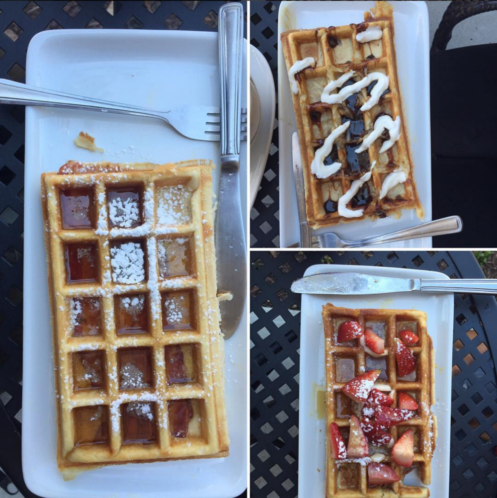 Benelux Coffee has Bacon Waffles. Why are you still here?