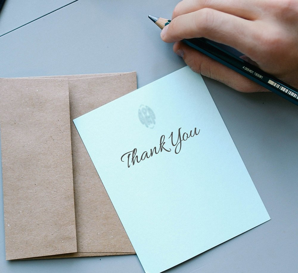 Stand Out While Being Professional: Proper Thank You Notes