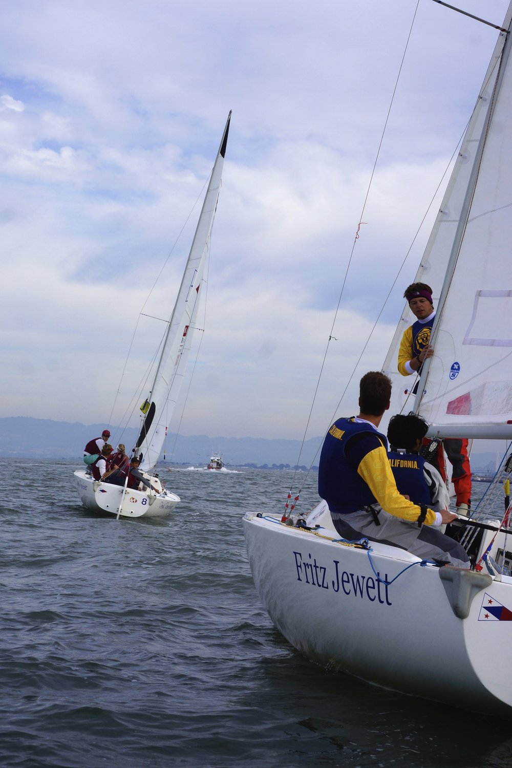 The Big Sail is an annual fall regatta, in which three boats each from Stanford and UC Berkeley compete against each other in a series of team and match races. This year, Stanford continued a decade-long tradition of winning this regatta, taking home the 2014 Big Sail trophy.