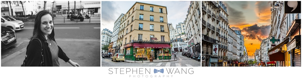 Just wandering around Montmartre.  Some of best parts of the trip weren't the museums, monuments, or tours, but just walking around taking in the sights and culture.  The middle photo is the market that's featured in Amelie, fyi for you movie buffs.