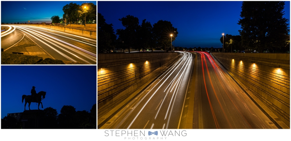 A few more photos around dusk.  I'm always a sucker for some light trails.