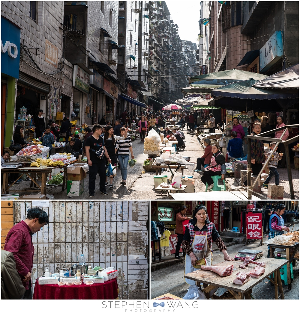 One of my favorite parts of the trip was walking through local markets and checking out all the fruits, vegetables, meats, and even a dentist (lower left photo).