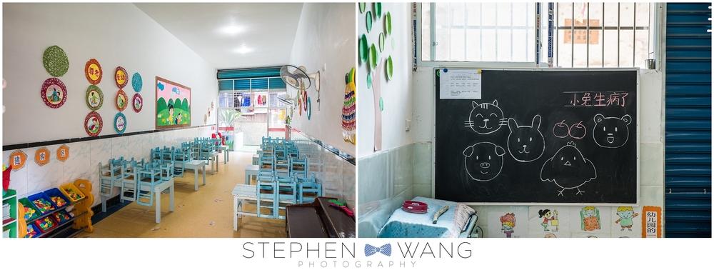 Visiting a kindergarten classroom