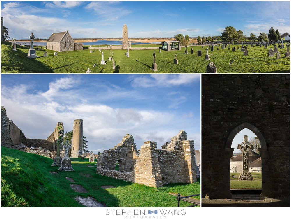 Day 3 - We made our way out of Dublin and into the countryside, Clonmacnoise was our first stop.  It's a very old (544 AD old) monastery with all sorts of ruins, graves, and crosses.  I'm not even religious, and I thought it was super cool!