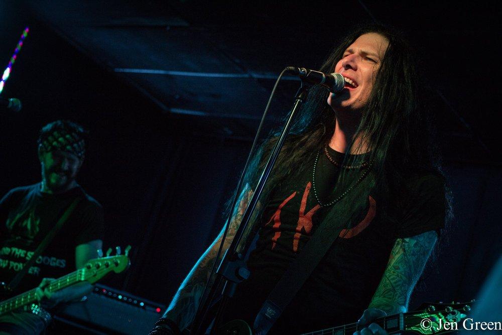 Todd Kerns performing in Alberta, Canada
