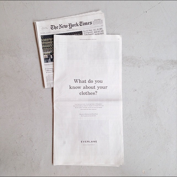 New York Times ad