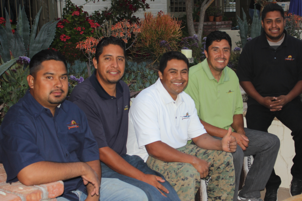 Left To Right: aldolpho, Luis, Esteban, candido, alex