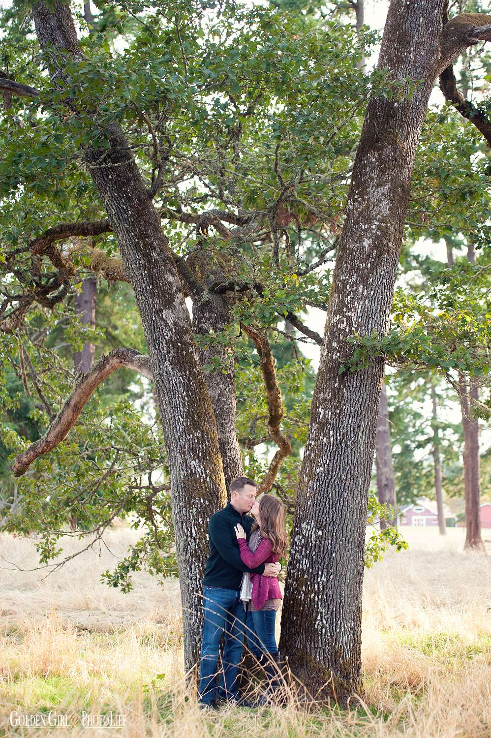 Fort Steilacoom engagement session tacoma wedding photographer photo 1