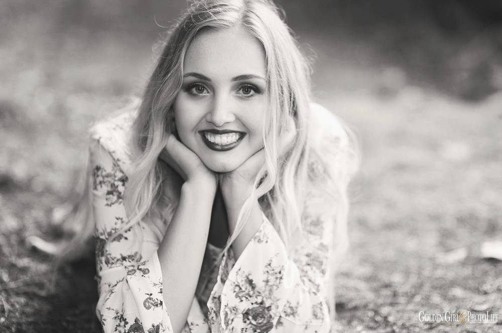 OHS Bremerton senior fashion photographer forest photo