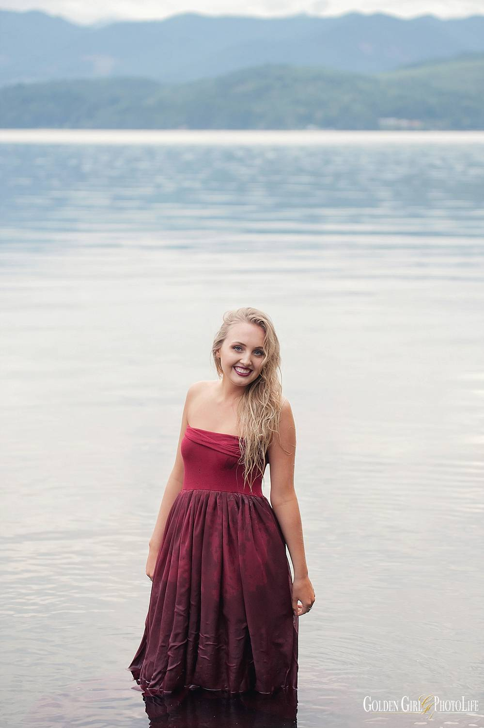 Banbridge Island High School senior pictures beach park photo