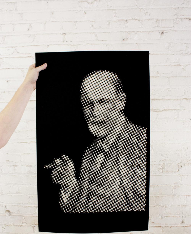 Laser cut  Sigmund Freud by welasers.com