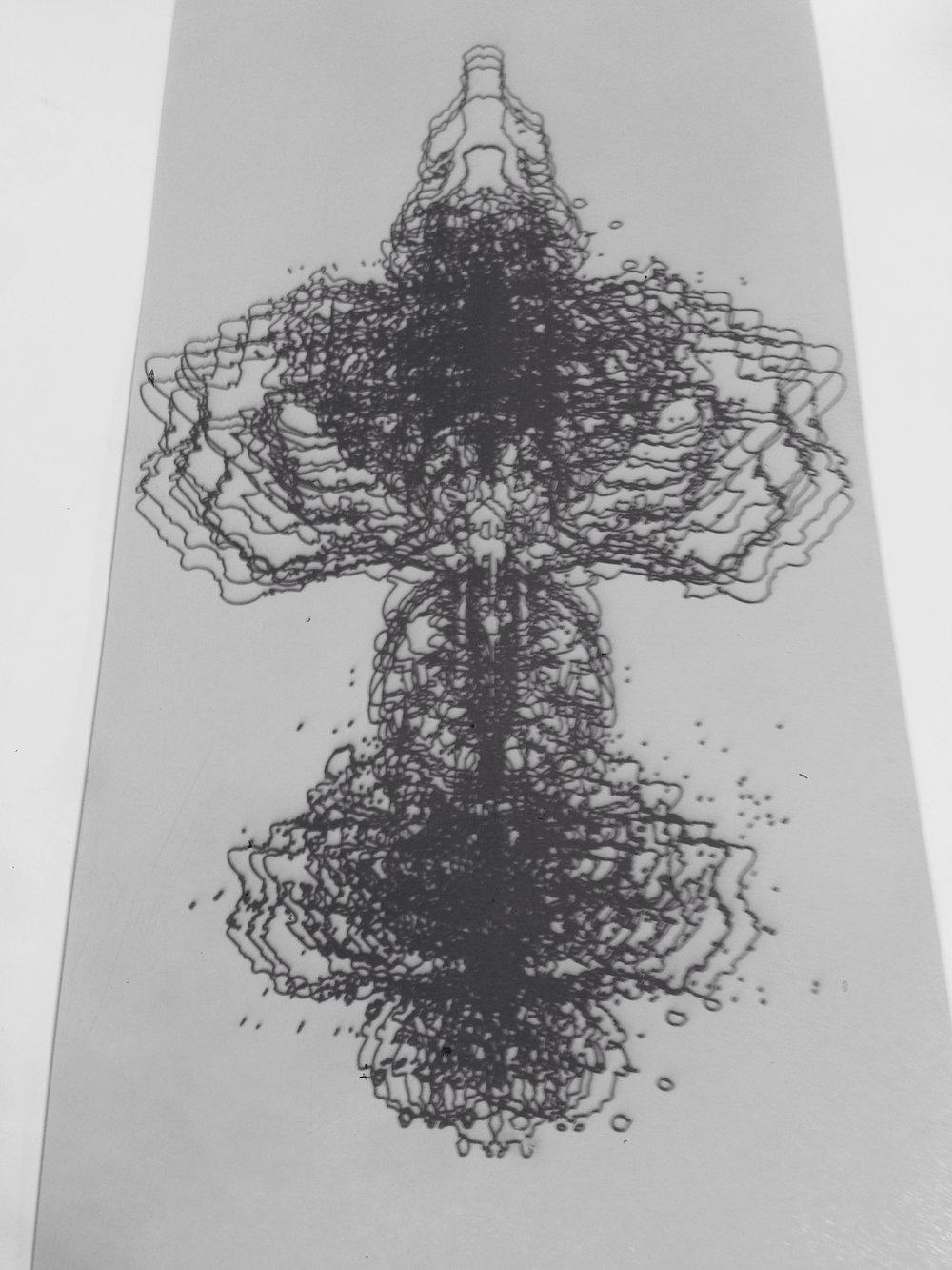 laser etched aluminum