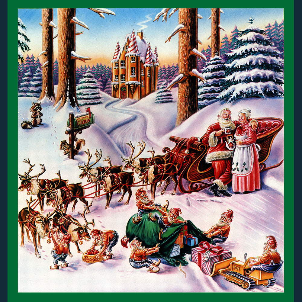 SANTA's COFFEE BREAK- Retail Catalog cover