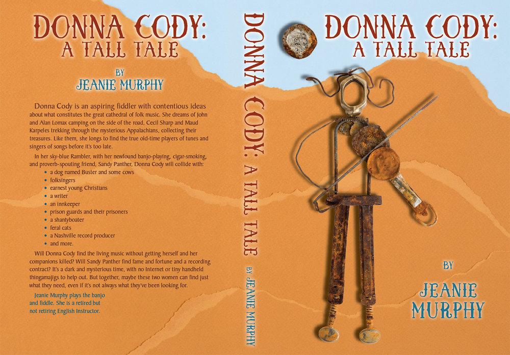 Print novel: back, spine and front cover