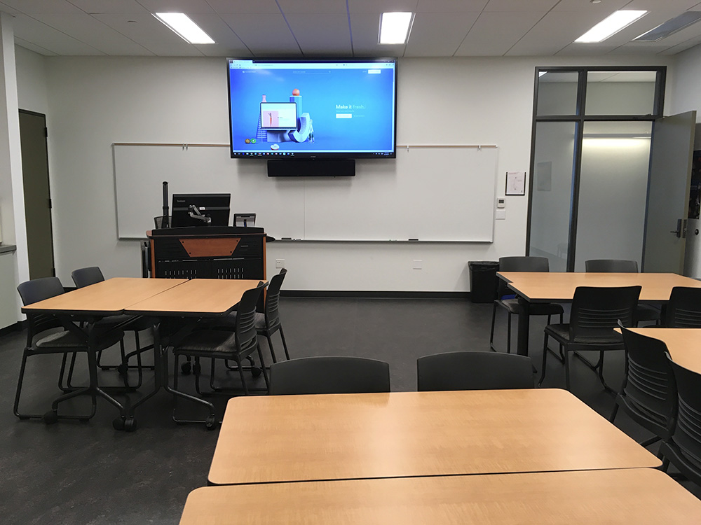 Classroom at Peninsula College